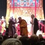 His holiness, the 14th Dalai Lama – live